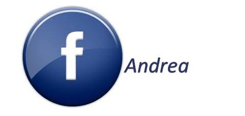 Andrea on facebook