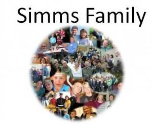 Simms family photos