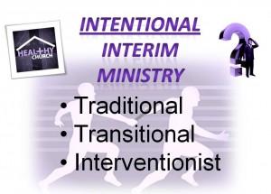 Intentional Interim Ministry