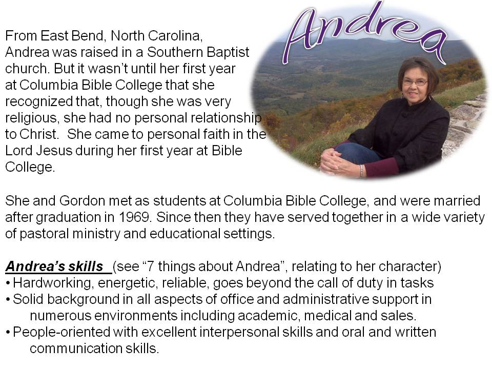 About Andrea
